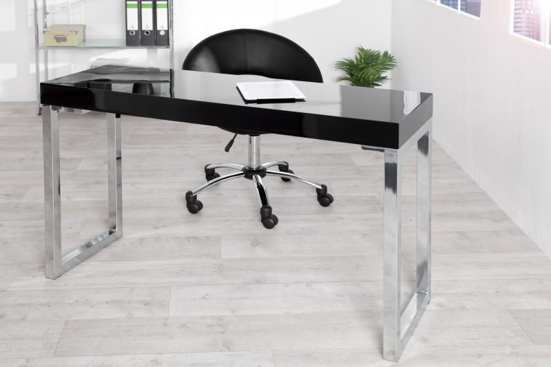 Bureau console desk noir cm
