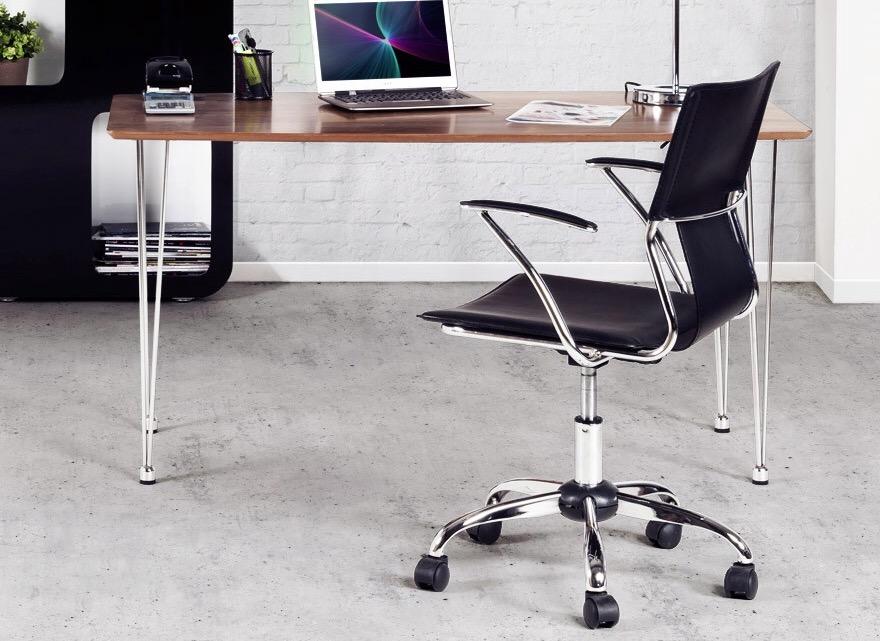 Fauteuil bureau design noir ou blanc